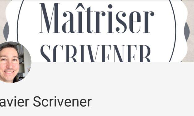 Le tuyauteur du mercredi : découvrir Scrivener
